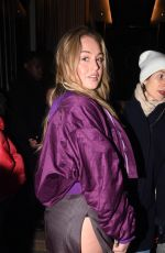 ISKRA LAWRENCE at Off-white Fashion Show in Paris 03/01/2018