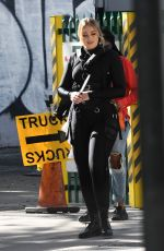 ISKRA LAWRENCE on the Set of a Secret Project in Miami 03/24/2018