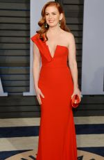 ISLA FISHER at 2018 Vanity Fair Oscar Party in Beverly Hills 03/04/2018