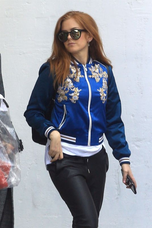 ISLA FISHER Out in West Hollywood 02/28/2018
