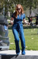 ISLA FISHER Out Shopping in Beverly Hills 03/15/2018