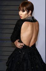 JACKIE CRUZ at 2018 Vanity Fair Oscar Party in Beverly Hills 03/04/2018