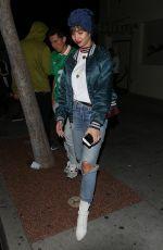 JACKIE CRUZ at Delilah in West Hollywood 03/30/2018