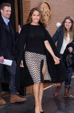 JAINA LEE ORTIZ Out and About in New York 03/22/2018