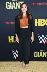 JAMIE LEE at Andre the Giant Premiere in Los Angeles 03/29/2018