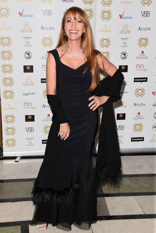 JANE SEYMOUR at 2018 National Film Awards in London 03/28/2018
