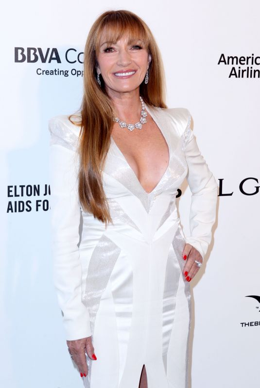 JANE SEYMOUR at Eton John Aids Foundation Academy Awards Viewing Party in Los Angeles 03/04/2018