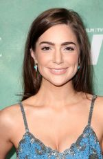 JANET MONTGOMERY at Women in Film Pre-oscar Cocktail Party in Los Angeles 03/02/2018