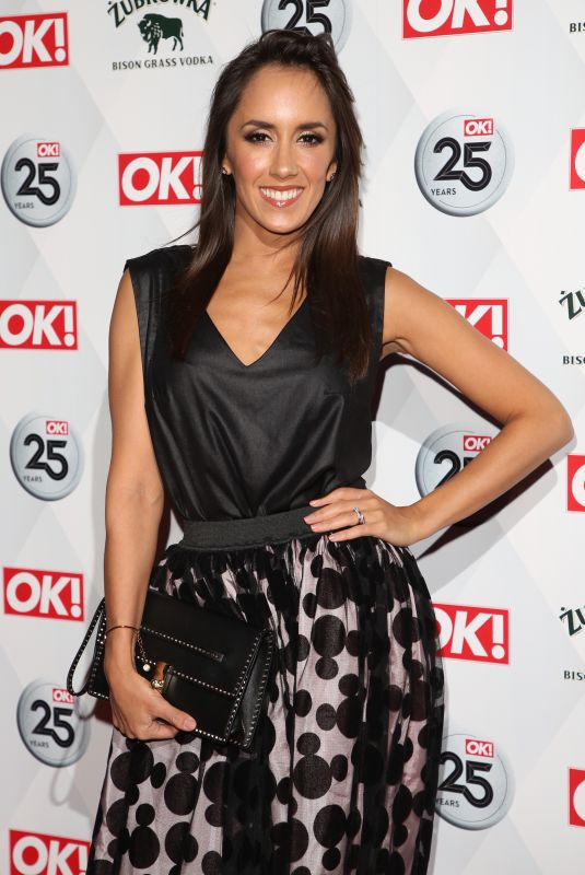 JANETTE MANRARA at OK! Magazine's 25th Anniversary in London 03/21/2018
