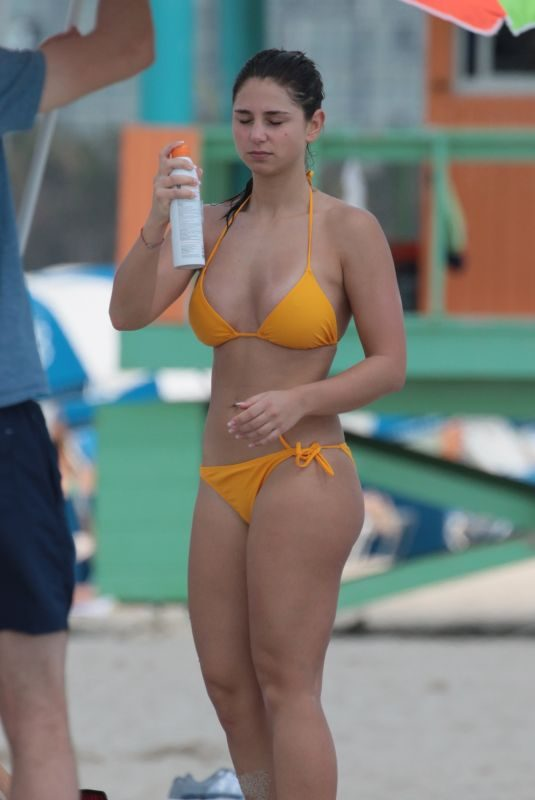 JASMIN @someonesday in Bikini at a Beach in Miami 03/19/2018