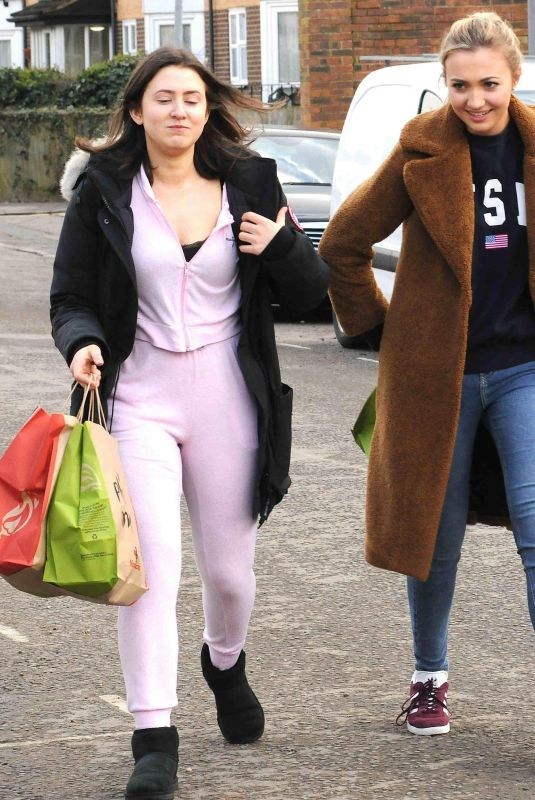 JASMINE ARMFIELD and TILLY KEEPER Out for Lunch in London 03/27/2018