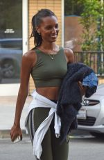 JASMINE TOOKES and JOCELYN SHEW Leaves a Gym in Los Angeles 02/28/2018