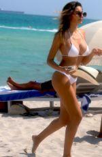JASMINE TOSH in Bikini at a Beach in Miami 03/20/2018
