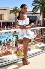 JASMYN WILKINS at Sports Illustrated Swimsuit Model Search Winners Announcement in Las Vegas 03/24/2018
