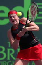 JELENA OSTAPENKO at 2018 Miami Open in Key Biscayne 03/28/2018