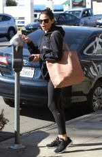 JENNA DEWAN Out for Massage in Studio City 02/28/2018