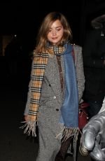JENNA LOUISE COLEMAN Night Out in London 03/20/2018