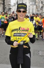 JENNI FALCONER and AMANDA HOLDEN at London Landmarks Half Marathon 03/25/2018
