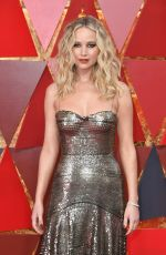 JENNIFER LAWRENCE at 90th Annual Academy Awards in Hollywood 03/04/2018