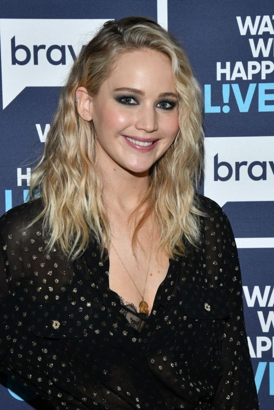 JENNIFER LAWRENCE at Watch What Happens Live in New York 03/01/2018