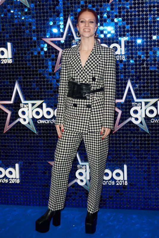 JESS GLYNNE at Global Awards 2018 in London 03/01/2018