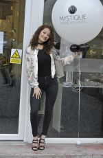 JESS IMPIAZZI Out for Launch in Stockport 03/29/2018