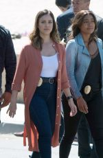 JESSICA ALBA and GABRIELLE UNION on the Set of An Untitled Bad Boys Spinoff in Los Angeles 03/28/2018