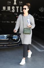 JESSICA ALBA Leaves a Gym in Los Angeles 03/19/2018