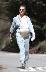 JESSICA ALBA Out in West Hollywood 03/03/2018
