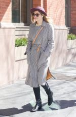 JESSICA BIEL Out and About in New York 03/22/2018