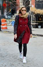 JESSICA BIEL Out for Lunch in New York 03/27/2018