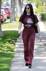 JESSICA GOMES Out and About in Beverly Hills 03/29/2018
