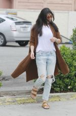 JESSICA GOMES Out for Coffee in Hollywood 03/20/2018