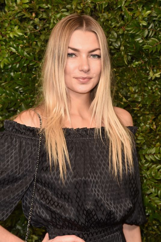 JESSICA HART at Charles Finch and Chanel Pre-oscar Dinner in Los Angeles 03/03/2018