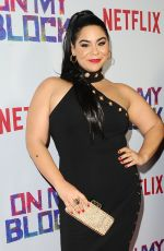 JESSICA MARIE GARCIA at On My Block Premiere in Los Angeles 03/14/2018