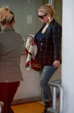 JESSICA SIMPSON Leaves Dermatology in Beverly Hills 03/08/2018