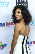 JESSICA SZOHR at Byron Allen's Oscar Gala Viewing Party in Los Angeles 03/04/2018