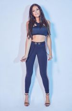 JESSICA WRIGHT for New Fitness DVD Photoshoot, 2018
