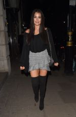 JESSICA WRIGHT Leavines Hospital Club in London 03/08/2018