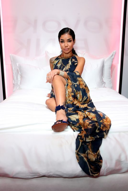 JHENE AIKO at Chanel Pre-Oscars Event in Los Angeles 02/28/2018