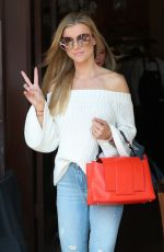 JOANNA KRUPA Leaves Il Pastaio in Beverly Hills 03/23/2018