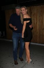JOANNA KRUPA Leaves Nice Guy in West Hollywood 03/28/2018