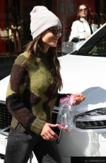JORDANA BREWSTER Out Shopping in Beverly Hills 03/16/2018