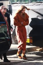JOSEPHINE SKRIVER on the Set of a Photoshoot in New York 03/19/2018