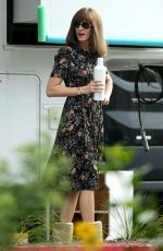 JULIA ROBERTS on the Set of Homecoming in Los Angeles 03/13/2018