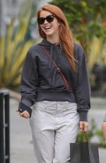 JULIANNE HOUGH Out Shopping in West Hollywood 03/16/2018