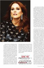 JULIANNE MOORE in Mujer Hoy, March 2018 Issue