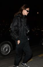 KAIA GERBER Arrives at Her Hotel in Paris 02/28/2018