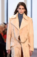 KAIA GERBER at Chloe Runway Show at Paris Fashion Week 03/01/2018