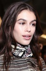 KAIA GERBER at Isabel Marant Runway Show at PFW in Paris 03/01/2018